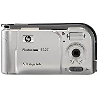 HP Photosmart E327 5MP Digital Camera from Hewlett Packard