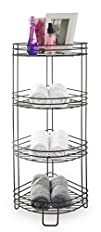 BINO Monaco Rust-Resistant 4-Tier Corner Spa Tower Bronze