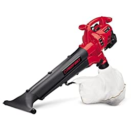 Troy-Bilt TB310QS Mulchinator 31cc 2-Cycle Gas-Powered 165 MPH Blower Vacuum