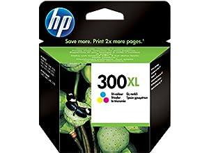 HP - 300XL - Cartouche d'encre d'Origine - Cyan/Magenta/Jaune - 440 pages