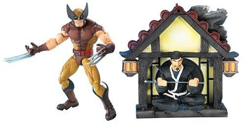 Imagen de Marvel Legends Series 6 Wolverine en la figura Brown Acción Custome