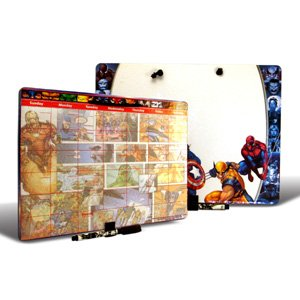 Disney back to school activity - Spiderman and Marvel Heros Dry Erase Board