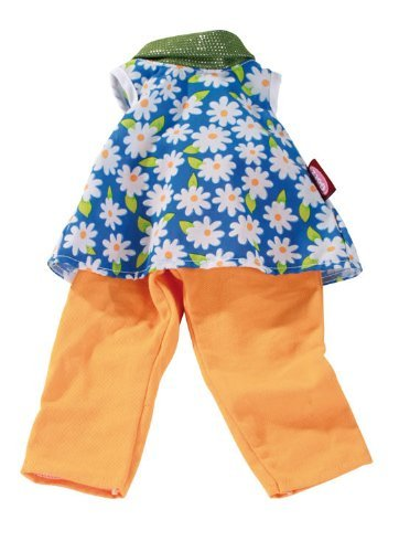"Gotz Flower Top with Pants for 18"" Doll"