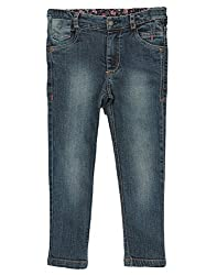 Beebay Denim Trouser (G5414207600412_Denim Blue _6Y)