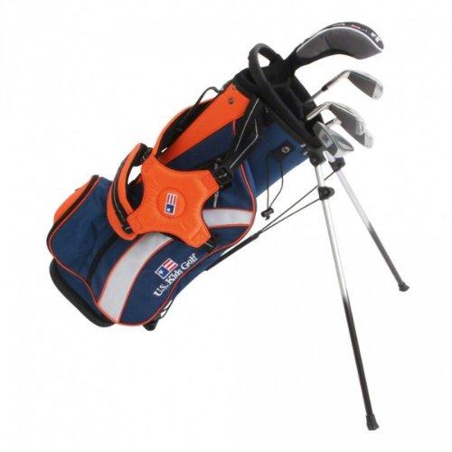 us-kids-golf-starter-set-ultralight-126-134-cm-51-inch-rh-blau-orange-ul400