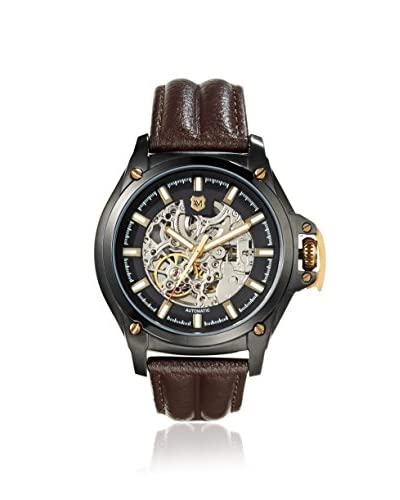Andrew Marc Men's A11403TP 3 Hand Brown/Black Automatic Watch