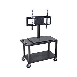 "Amazon.com - Luxor 2 Shelf Flat Panel TV Cart With Electric 32""W x 18"