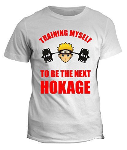 Tshirt Naruto Training to become Hokage - in cotone by Fashwork