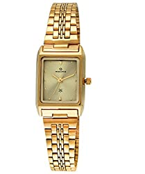 Maxima Formal Gold Analog Multi-Colored Dial Womens Watch - 06111CMLY