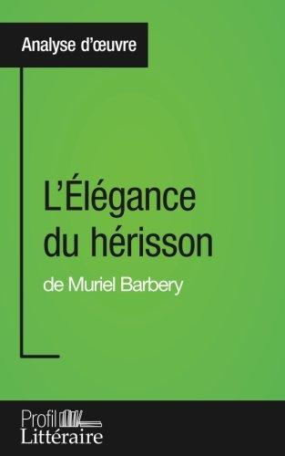 L'élégance du hérisson de Muriel Barbery