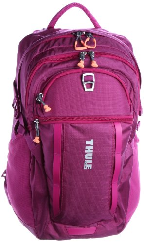 B008MZKJR4 Thule EnRoute Blur Daypack for 17-Inch MacBook Pro and 10-Inch Tablets – Purple (TEBD-117)