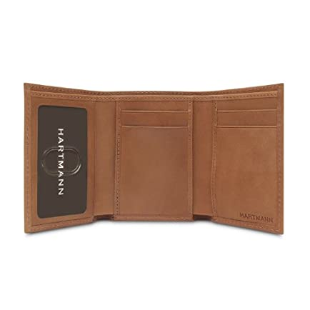 Hartmann Belting Leather Trifold Wallet