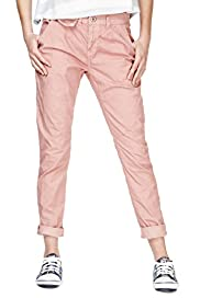 Angel Cotton Rich Turn Up Hem Chinos