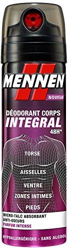 Mennen deodoranti per il corpo 48H integrale intenso talco profumato micro-alcool 200 ml