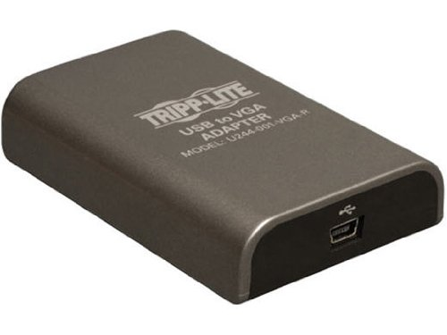 Tripp Lite USB 2.0 to VGA Adapter, USB2VGA 128MB - 1920x1200,1080P(U244-001-VGA-R)