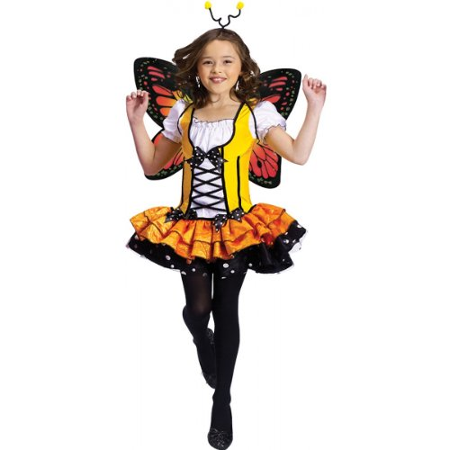 Butterfly Princess Costume - Medium front-1029146