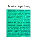 American Negro Poetry:an Anthology (American Century Series, AC 71)