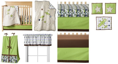 Camo Air 9pc Crib Set