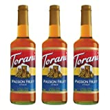 Torani Passion Fruit Syrup 750-ML (Pack of 3)