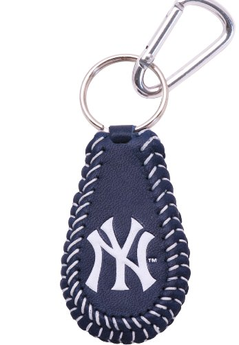 MLB New York Yankees Team Color Baseball Keychain