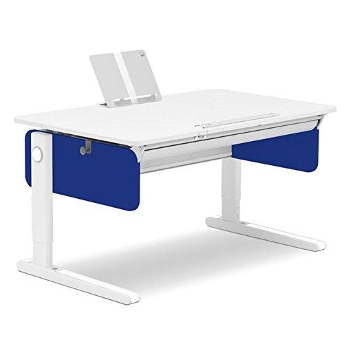 Moll Champion Style Left Up Schreibtisch | blau | 120 x 72 x 53-82 cm (Breite x Tiefe x Höhe) | höhenverstellbar kaufen