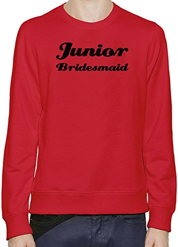 Junior Bridesmaid Funny Slogan Pullover da uomo XX-Large