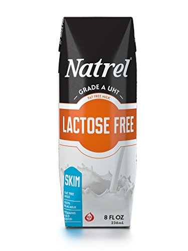 Natrel Milk Lactose Free Skim Prisma, 8 Ounce (Pack of 18) (Fat Free Milk compare prices)