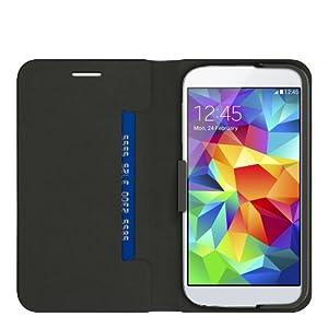 Belkin Basic Wallet Folio for Samsung Galaxy S5 - Solid - Blacktop by Belkin