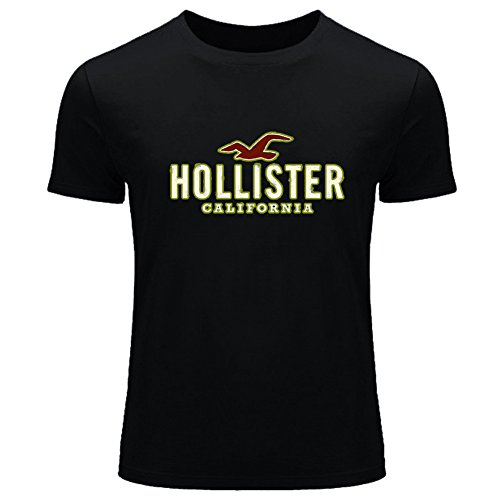 Hollister Logo Diy Printing For Boys Girls T-shirt Tee Outlet