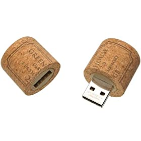4GB Cork USB Drive - Perfect Gift for Wine Lovers