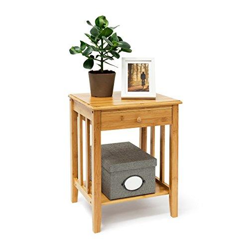 Relaxdays-Bambus-Beistelltisch-mit-Schublade-H-x-B-x-T-ca-515-x-405-x-305-cm-Nachttisch-aus-robustem-Holtz-als-schmale-Nachtkonsole-mit-Schubfach-als-kleiner-Tisch-mit-2-Ablageflchen-natur