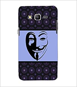 PrintDhaba Mask D-6029 Back Case Cover for SAMSUNG GALAXY GRAND PRIME (Multi-Coloured)