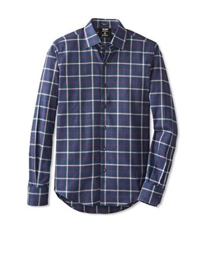 Todd Snyder Men's Spread Collar Dress Shirt