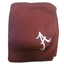 Alabama Crimson Tide Colored NCAA College Newborn Infant Baby Blanket 33\