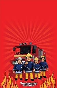 Amscan Fireman Sam Plastic Tablecover