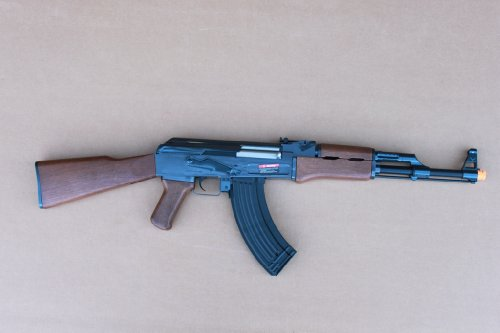 DE Metal AK47 Full Automatic AEG 415 FPS