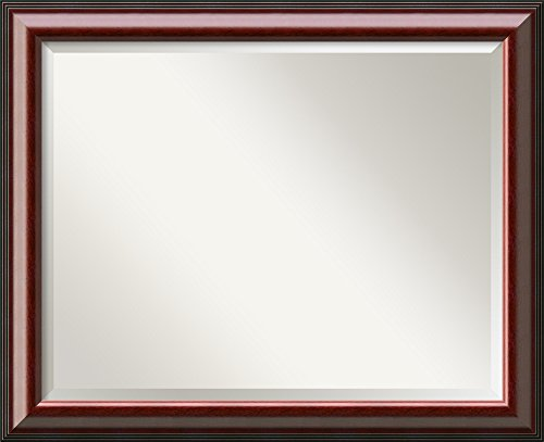 Cambridge Mahogany Mirror - Large Framed front-769261