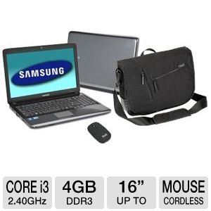 Samsung R Series NP-R540-JA02US 15.6 Noteb Bundle