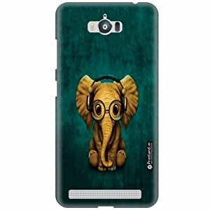 Printland Back Cover For Asus Zenfone Max ZC550KL - Buds Designer Cases