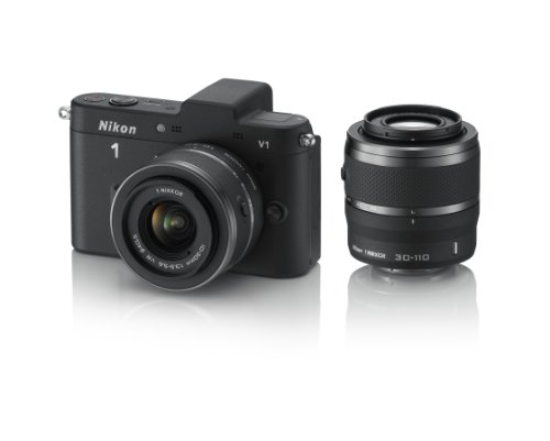 Nikon 1 V1 (with 10-30mm VR and 30-110mm VR Lenses) is one of the Best Compact Digital Cameras for Action Photos