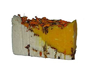 L81 Cream and Marigold Luxury Spa Handmade Soap
