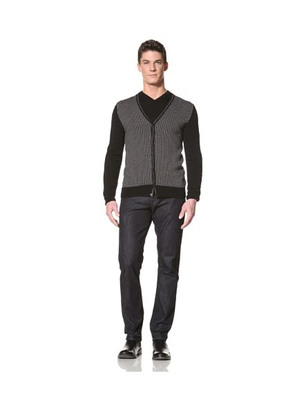 Calvin Klein Collection Men's Lance V-Neck Cardigan