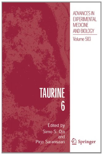 Taurine 6 (Advances In Experimental Medicine And Biology) (Volume 583)