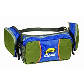 Plano Waist Bag (Green/Blue)
