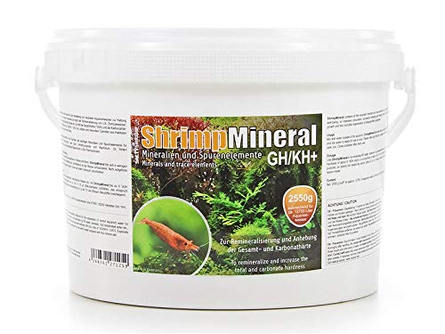 Salty Shrimp Mineral GH/KH+ 2550g (Color: White, Tamaño: 2550g)