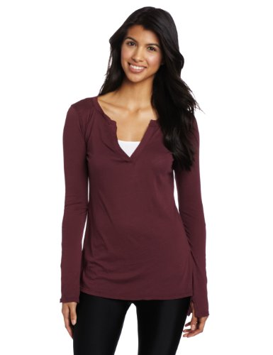 Beyond Yoga Women's Organic Long Sleeve Henley