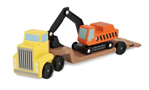 Melissa and Doug Digger and Low Loader