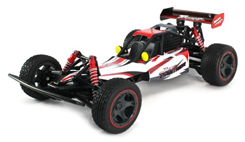 Jet Panther Electric Rc Off-Road Buggy Huge 1:10 Scale Top Max Racing Rtr W/ Independent 4 Wheel Suspension, Spring Shocks, Tri-Band Transmitter (Colors May Vary)