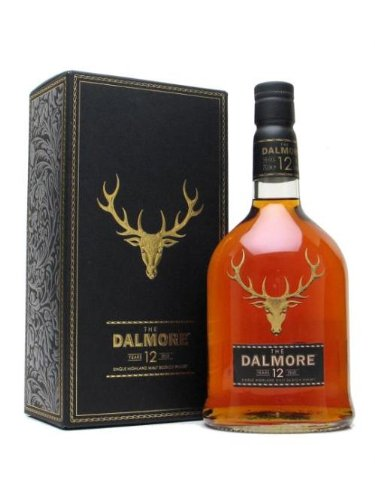 DALMORE 12 Year Old Single Malt Highland Whisky 70cl Bottle