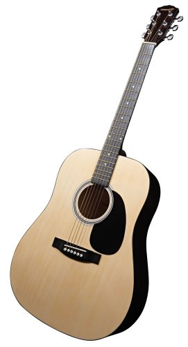Fender Starcaster Acoustic Guitar Pack with Accessories - Natural:   best price guitar Christams